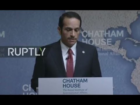 LIVE: Qatari Foreign Minister discusses Gulf crisis during London visit