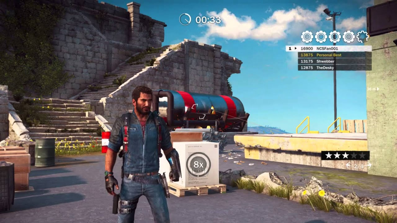 how to find gears in just cause 3