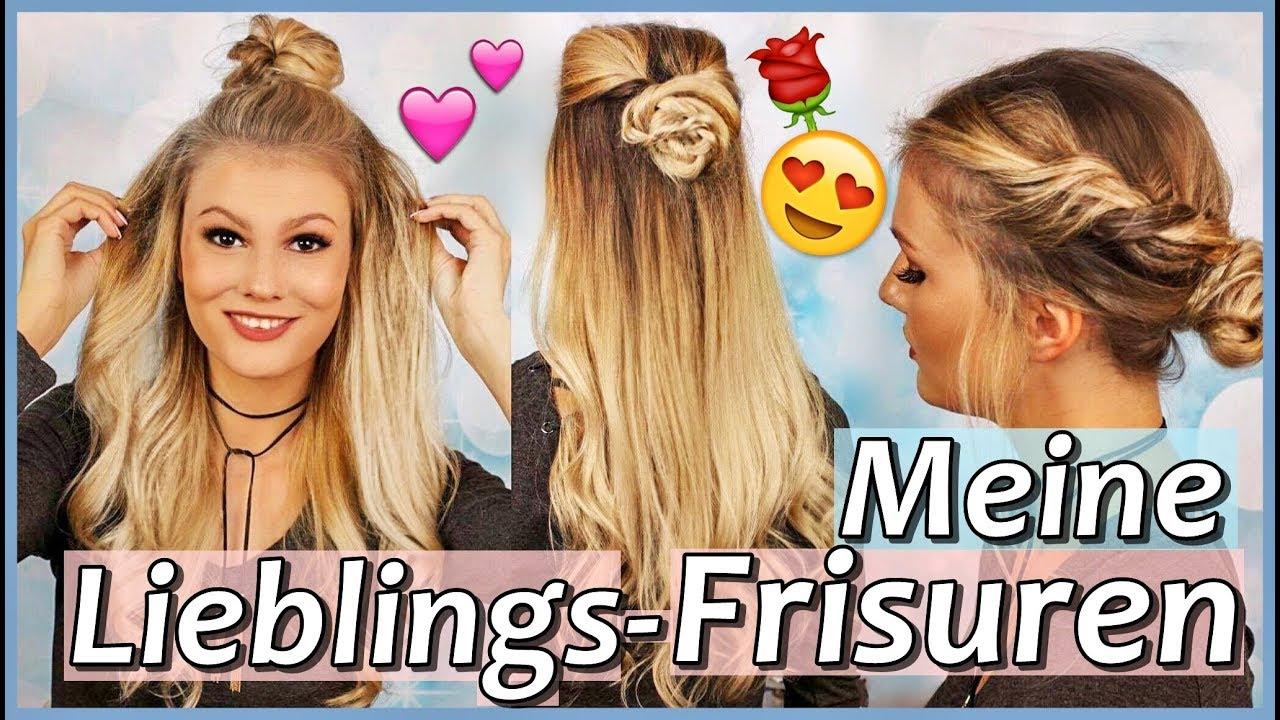 4 Frisuren Selber Machen Die Besten Frisuren Ever Youtube