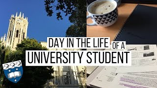 A day in the life of a University student | University of Auckland | Likeimstudying