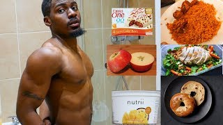 IIFYM Full Day of Eating While Travelling Ep 05