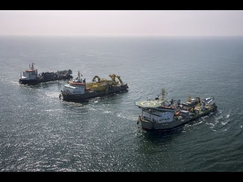 Boskalis capabilities clip cable-laying vessel
