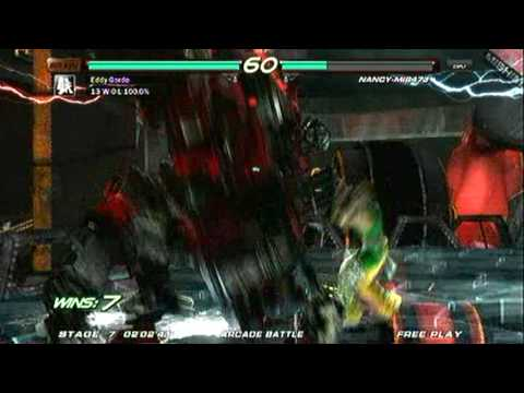 Tekken 6 - Perfect Nancy MI847J on Ultra Hard