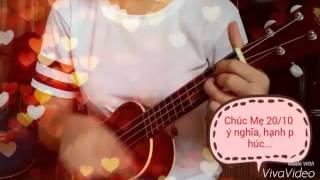 Mẹ yêu ukulele cover by Hồng Anh_Vũ WRU