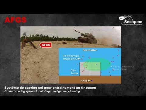 SECAPEM - Systèmes d'entraînement au tir réel AIR-SOL / AIR-AIR