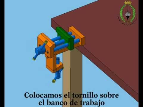 Tornillo de banco workbench vise youtube - Tornillo de banco ...