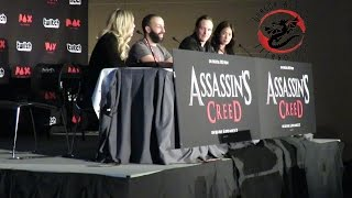 Assasins Creed Panel at PAX 2017 deleted scenes and discussion with cast.