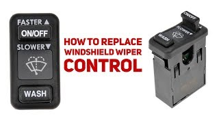 How to change windshield wiper control module thumbnail
