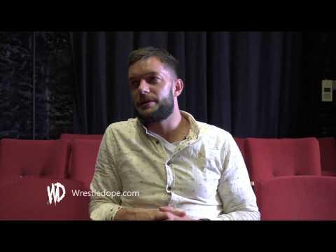 Finn Balor entrance & bodypaint explained -  Interview