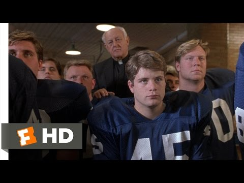 Rudy (6/8) Movie CLIP - Last Game of the Season (1993) HD