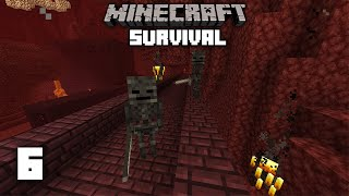 Minecraft: Crazy Nether Spawns! 1.15 Survival Let's play | Ep 6