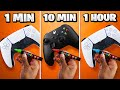 Gambar cover Customizing Gaming Controllers in 1 Minute, 10 Minutes, & 1 Hour - Challenge
