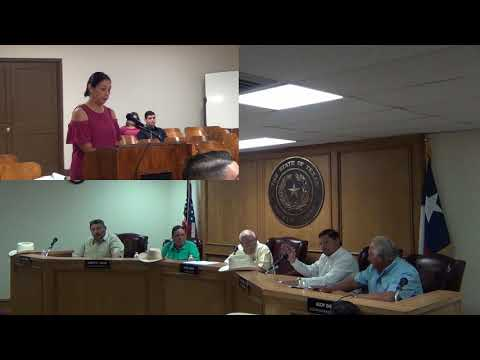 Starr County Commissioners Court 7-23-2018