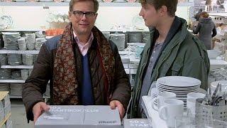 Ikea er en ny erfaring for Arves snobbete pappa