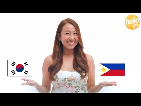 Ten Differences Between the Filipino and Korean Culture