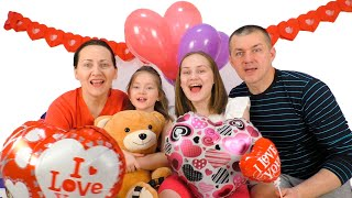 Happy Valentine's Day for kids | SKORIKI