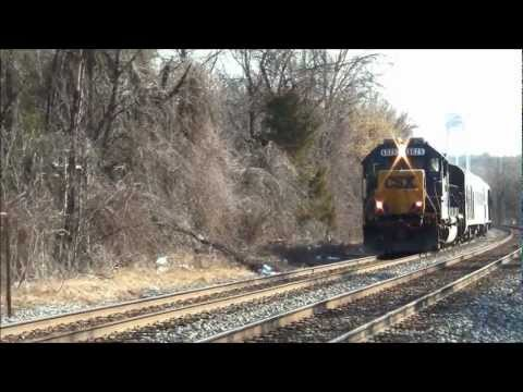 *RARE!* CSX Pulls the Dover Harbor and Geometry Cars!