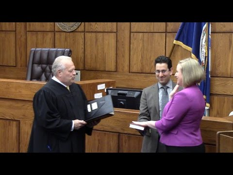 Clerk of Court Swearing In Ceremony