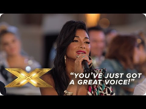 """""""You've just got a great voice"""" Judge's Reactions 