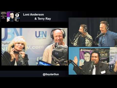 WKRP 's Loni Anderson w/ Terry Ray , Xaque Gruber and Michael Ferrera : On the Rocks