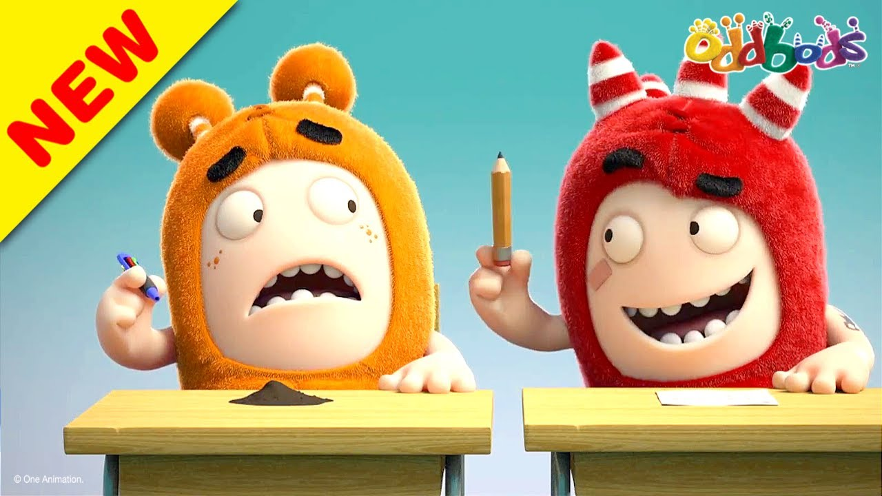 Oddbods | NEW | BACK TO SCHOOL | Funny Cartoons For Kids