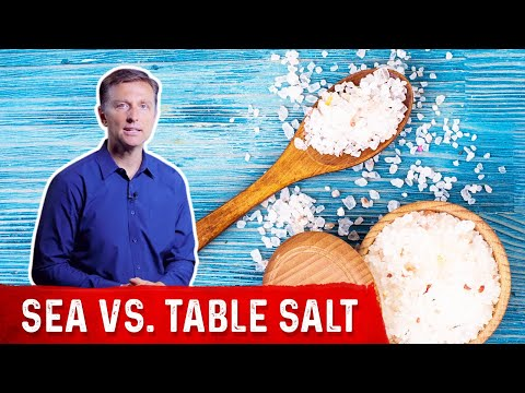 Sea Salt vs. Table Salt