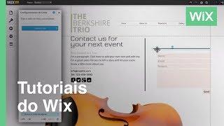 Cómo agregar una linea a tu sitio web | Wix.com
