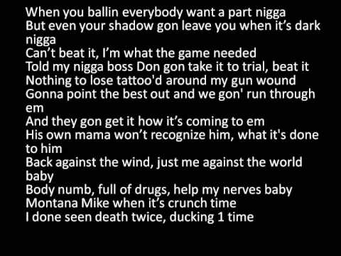 French Montana - Only For the night lyrics