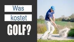 Golf spielen Kosten: Was kostet Golfen?