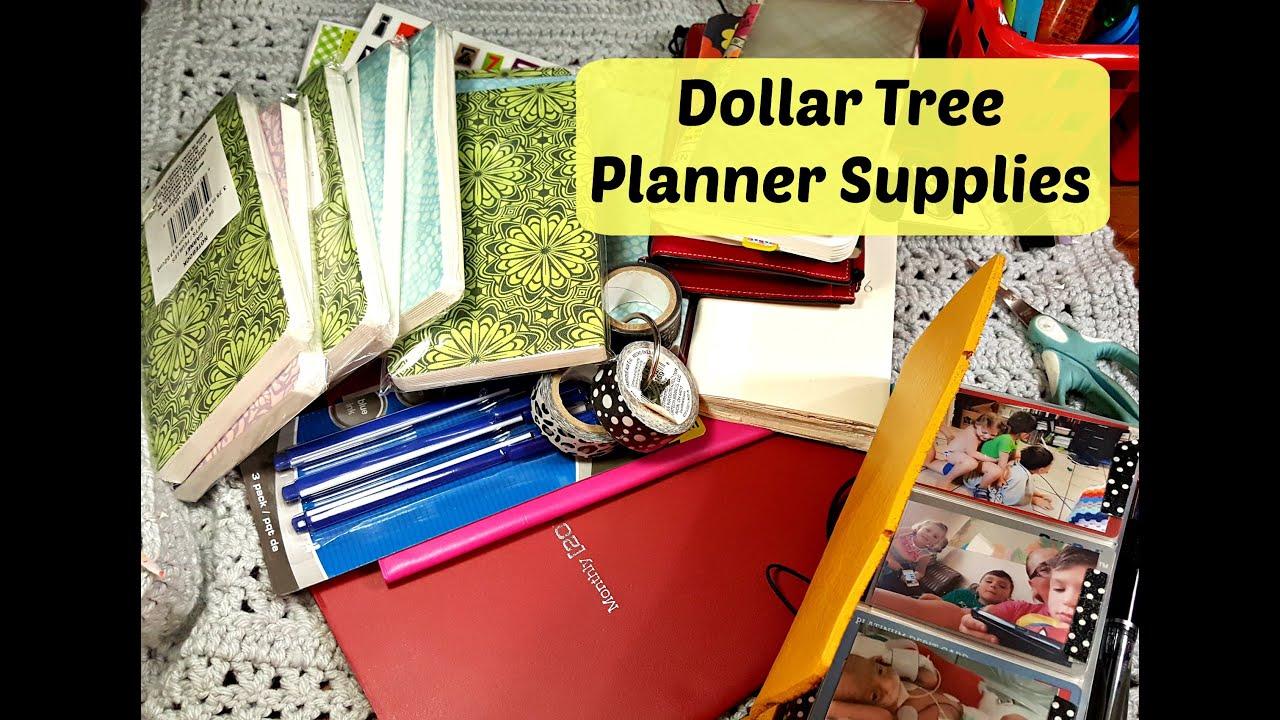 dollar tree planner supplies