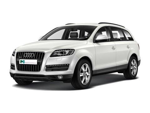 Замена лобового стекла на Audi Q7 в Казани.