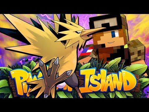 LEGENDARY BIRDS!! - Pixelmon Island Season 2 Episode 20 (Minecraft Pokemon!)