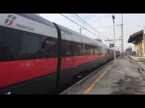 Frecciarossa Torino Porta Nuova- Trieste Centralein transito a Caldiero