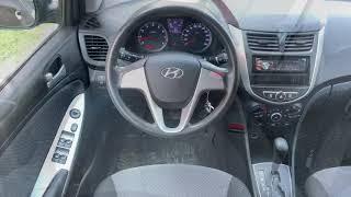 Экспресс обзор Hyundai Solaris, 2014 153 002 км, 1.6, AT (123 л.с.), седан, передний...