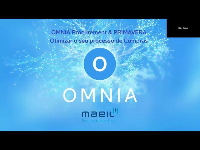 "WEBINARS SCM |   ""OMNIA PROCUREMENT & ERP PRIMAVERA v10 - Optimize o seu processo de compras"""