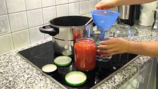 Basic: Tomatensosse einkochen
