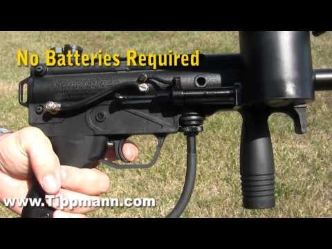 Tippmann Response Trigger In Action