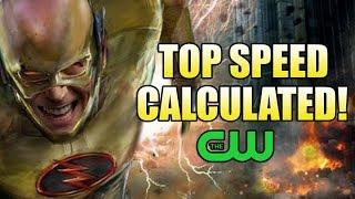 How Fast is the CW Reverse Flash?