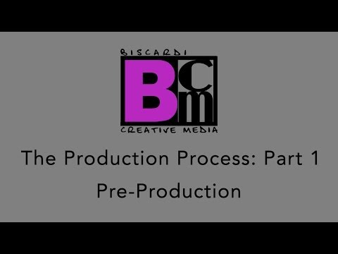 Biscardi Creative Media: The Production Process (Part 1)