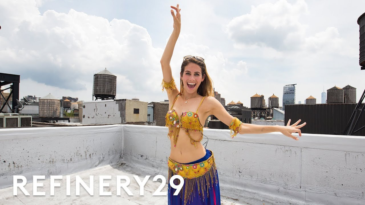 Lucie Fink Tries Bellydancing For The First Time | Try Living With Lucie | Refinery29