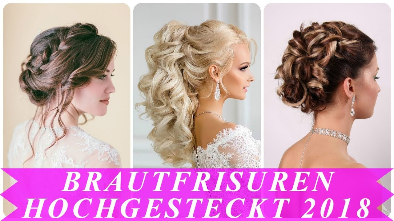 coole braut hochsteckfrisuren lange haare 2018 youtube. Black Bedroom Furniture Sets. Home Design Ideas