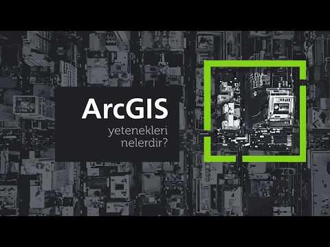 İşlem GIS / ArcGIS Capabilities