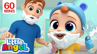 Daddy is My Hero | My Daddy Song & More Little Angel Kid Songs