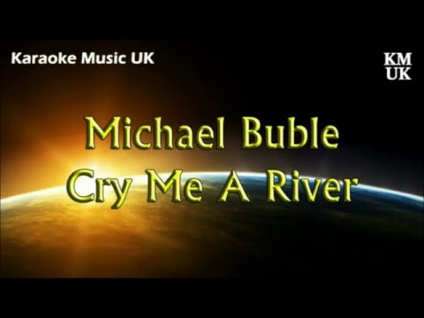 Karaoke Cry Me a River High Key BEST VERSION - female voice - no distortion