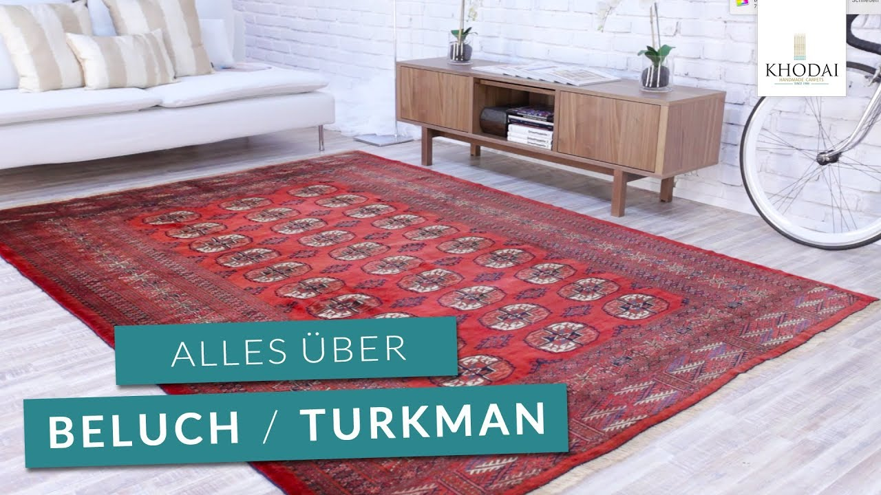 Beluch Turkman Afghan Teppiche Khodai De Youtube