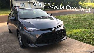 My new car, 2017 Toyota Corolla LE
