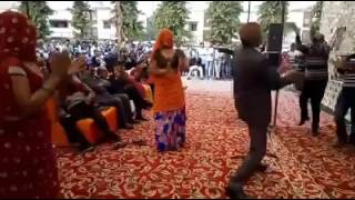 Meena officer dance