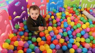 children play in balls ,funny videos for kids ,kids boys