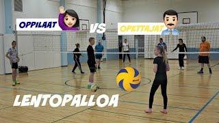 LENTOPALLO-OTTELU OPET vs OPPILAAT 23.11.2017
