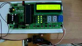Remote Controlled Audio Processor Using AT89S52 & TDA8425